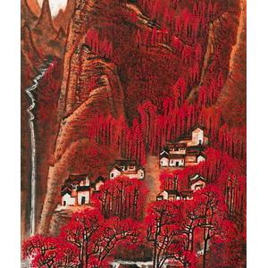 李可染红色经典书画作品拍卖价格