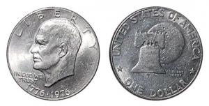 美国1美元硬币的坎坷命运