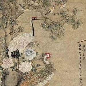 沈铨:清代江南第一高手,一幅《百鸟朝凤图》惊艳世人! ... ... ... ... ...