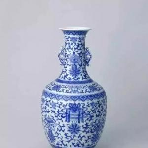 从馆藏及拍卖看清道光青花瓷器
