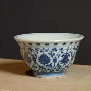 永乐青花最有名的竟是只小茶杯