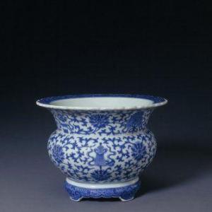 咸丰早期民窑青花瓷与道光青花瓷
