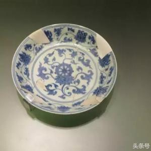 故宫与景德镇出土的成化瓷对比图