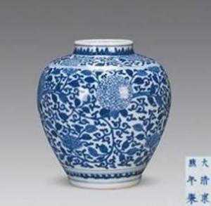 中国瓷器的主要装饰纹样