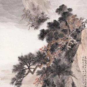 顾坤伯山水画作品70幅