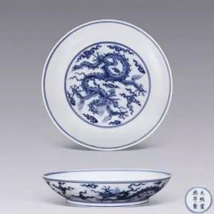 元明青花瓷器精品及图片欣赏
