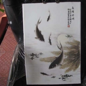 邓碧珊瓷板画的鉴与赏