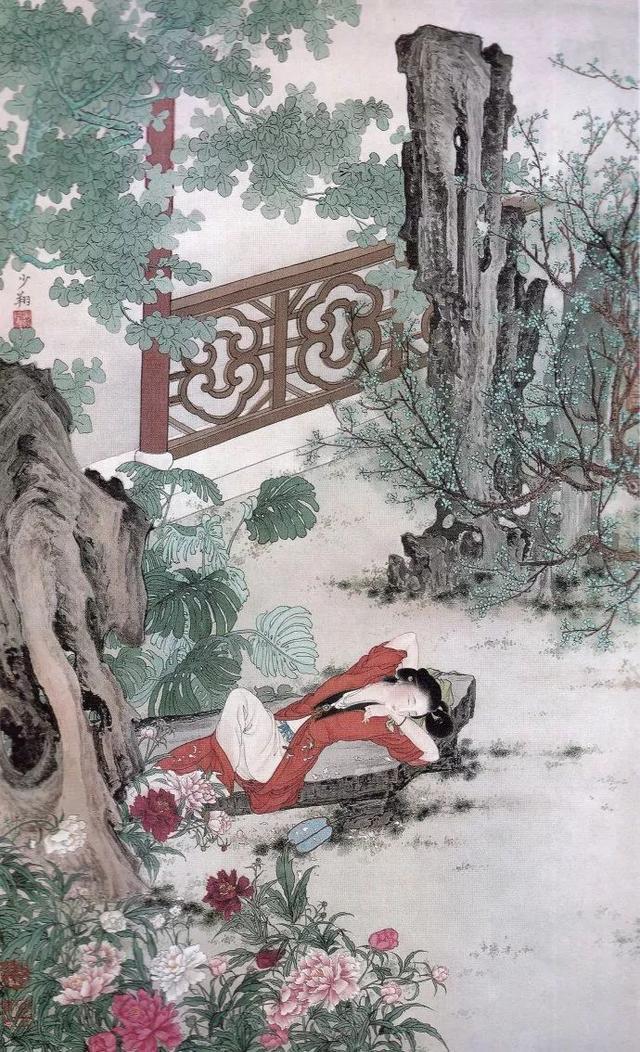 晏少翔古典美人作品90幅高清大图
