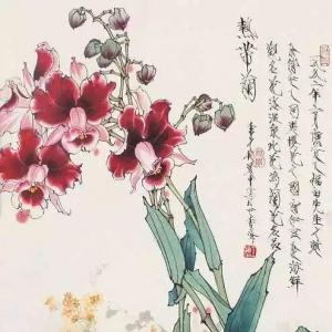 王道中工笔牡丹画作品及高清图