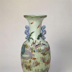 粉彩瓷器特征及精品欣赏