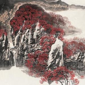 高相国山水作品画欣赏