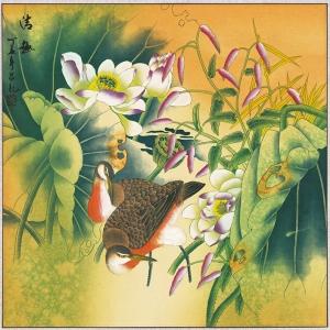 工笔花鸟画价格与欣赏