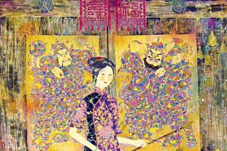 孙建林作品欣赏及其艺术价值
