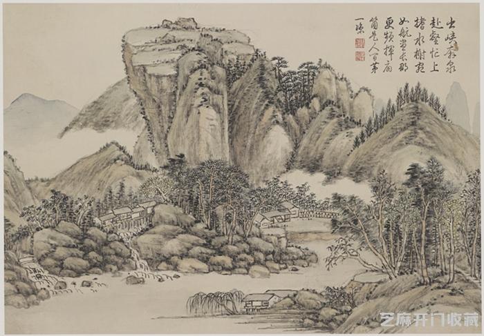 「弩图片」方琮的画作鉴赏与收藏价值