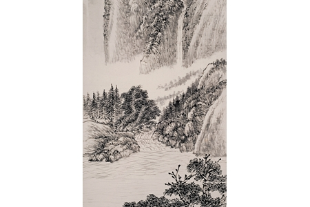 胡佩衡山水作品欣赏与价值
