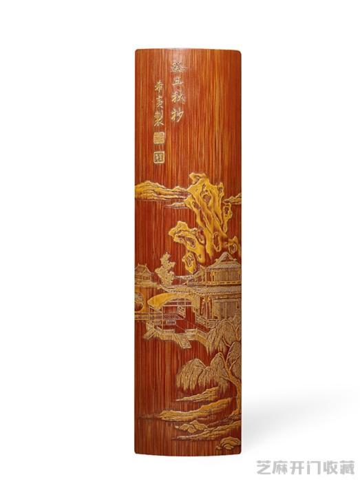 「钻石价格」张希黄竹雕作品价格及特征
