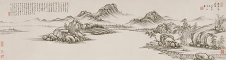 项圣谟山水画欣赏