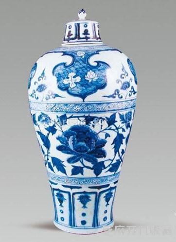 「木化石价格」牡丹纹瓷器的发展与收藏价值