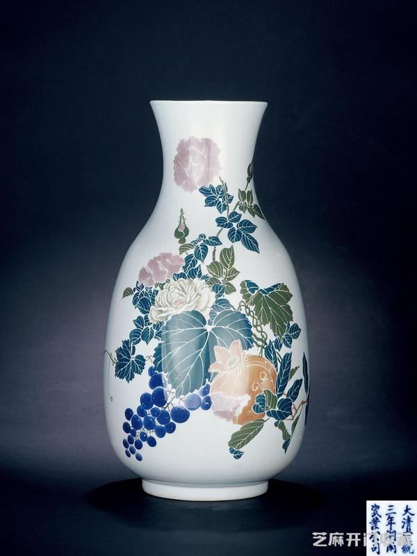 「金丝楠木树图片」宣统瓷器难道真的不值钱吗